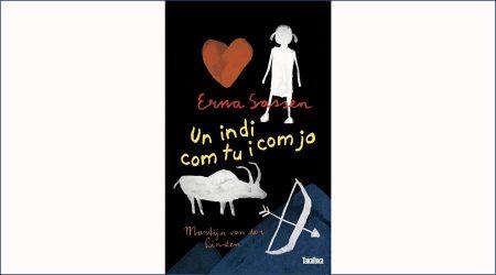 """Portada del llibre """"Un indi com tu i com jo"""""""