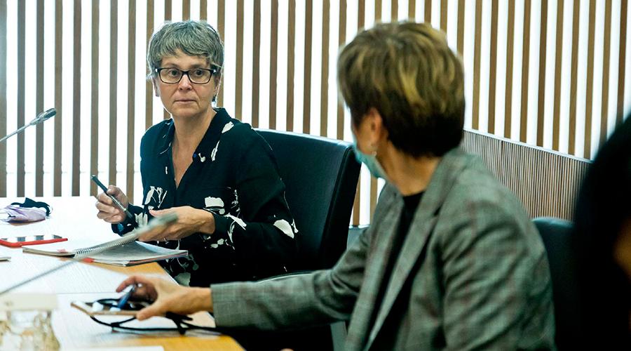 La Consellera General del Grup Parlamentari Socialdemòcrata, Susanna Vela
