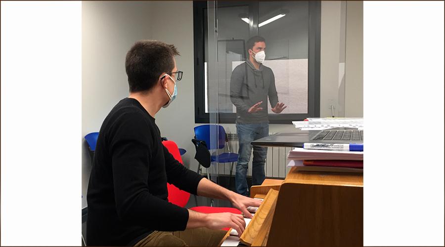 Classes presencials amb protecció a l'Escola Municipal de Música de la Seu d'Urgell